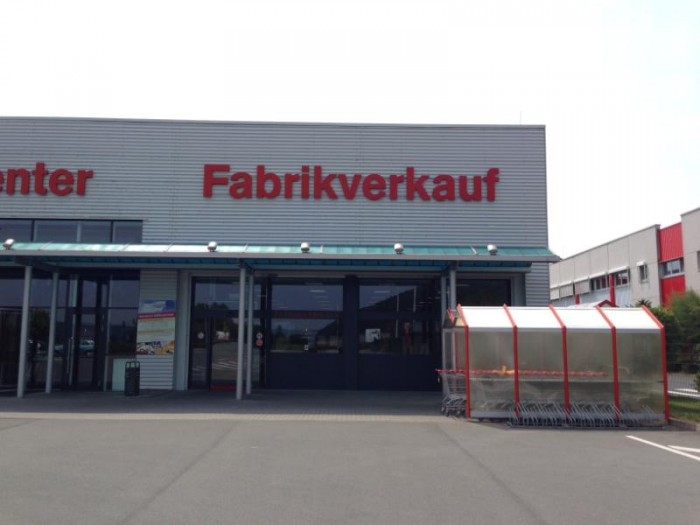 Fabrikverkauf