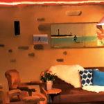 Gemütliche Atmosphäre im Wohnzimmer