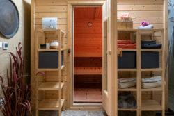 Sauna der Maifelder Wellness-Loft